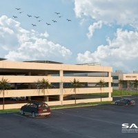 Car Parking building for Saudia medical services in SV city - jeddah